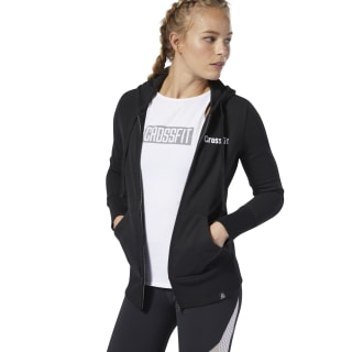 Bluza z kapturem Reebok CrossFit® Zip Black DP6214