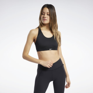 Stanik Workout Ready Medium-Impact Black FQ0421