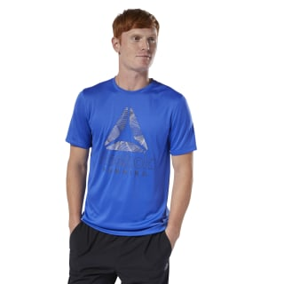 Remera Re Graphic Tee crushed cobalt DU4304