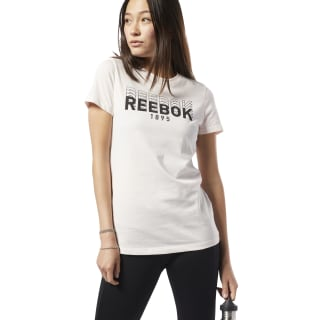 T-shirt Graphic Series Reebok 1895 Crew Pale Pink DY7836