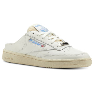 Club C 85 Mule Chalk / Paperwhite / Athletic Blue CN3278