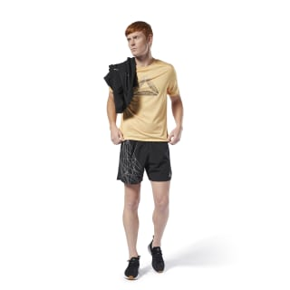 Shorts reflectantes Running Black DP6722