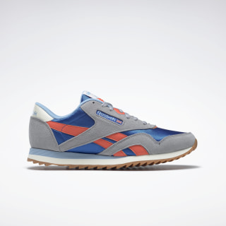 Classic Nylon Ripple Shoes Cool Shadow / Humble Blue / Vivid Orange EF3281
