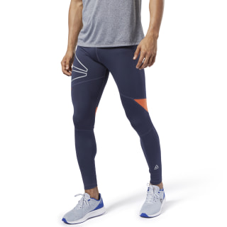 One Series Running Reflective Tights Heritage Navy EC2514