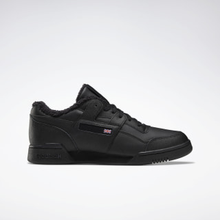 Кроссовки Reebok Workout Plus Black/black/NONE/NONE EH3392