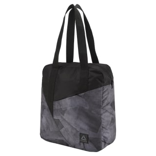 Women's Foundation Graphic Tote Black D56078