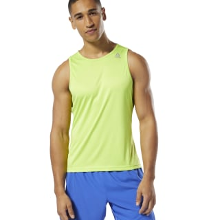 Camiseta Run Essentials SpeedWick Singlet Neon Lime DU4280