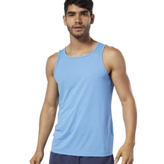 One Series Running Speedwick Singlet Cyan EC2507
