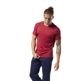 ACTIVCHILL Move Tee Cranberry Red D93744