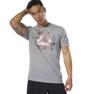 Foundations Tee Medium Grey Heather DU4687