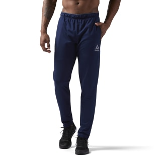 Stacked Logo Trackster Pant Collegiate Navy / Collegiate Navy CW5030