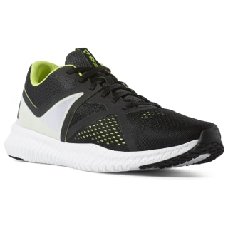 Кроссовки Reebok Flexagon Fit BLACK/WHITE/NEON LIME/TRUE GREY CN6357