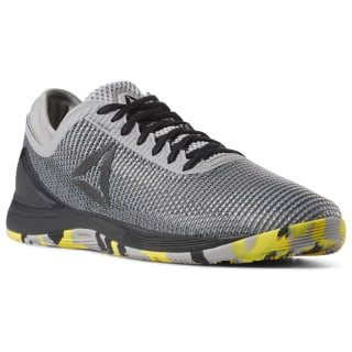 Reebok CrossFit Nano 8 Flexweave Shark/Tin Grey/Ash Grey/Black/Go Yellow DV5817