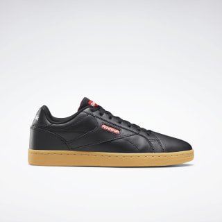 Reebok Royal Complete Clean Lux Shoes Black / Legacy Red / Porcelain EF7683