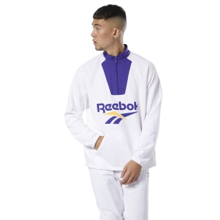 Classics Vector Quarter-Zip Sweatshirt White DX3823