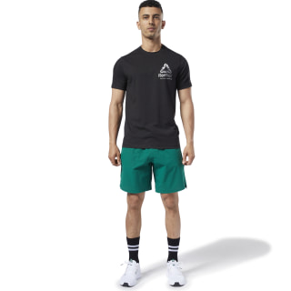 Short One Series Training Epic Clover Green DY8004