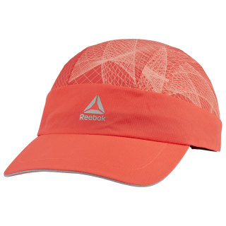 Running Graphic Perforated Cap Neon Red DU2817