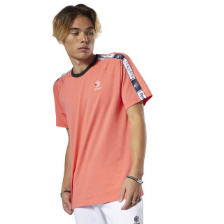 Classics Taped Tee Bright Rose DT8145