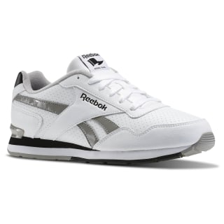Reebok Royal Glide S Clip White / Carbon / Black / Steel AQ9165