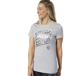 Camiseta Reebok CrossFit® Fittest On Earth Medium Grey Heather EC1475