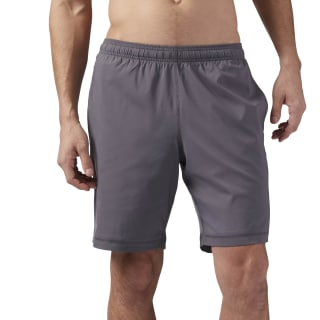 Training Essentials Poly Short Ash Grey CD5495