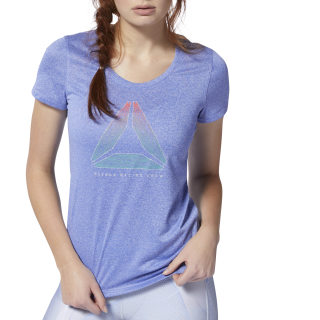 Running Reflecterend T-shirt Crushed Cobalt DU4262