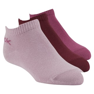 Kids No Show Sock - 3pairs Infused Lilac / Rustic Wine / Twisted Berry DA1245