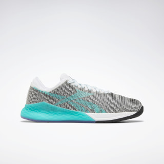 Nano 9.0 Shoes White / Black / Solid Teal EG1529