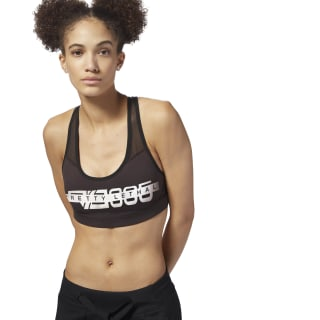 Reebok Hero Racer Bra - Graphic Black DM7490