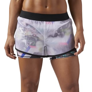 2-in-1 Woven Short Multicolor/White CF3184