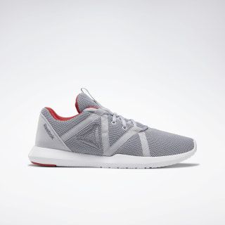 Reebok Reago Essential Shoes Cold Grey 2 / Cold Grey 4 / Rebel Red DV9381