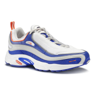 Reebok Daytona DMX White / Blue Move / Skull Grey / Bright Lava CN6033