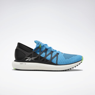 Floatride Run 2.0 Shoes Bright Cyan / Black / Solar Green DV6775