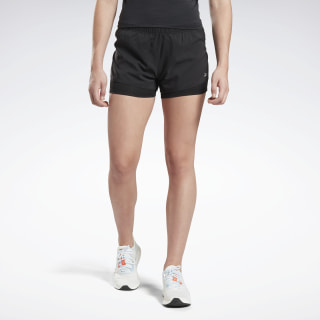 Running Essentials Two-in-One Shorts Black FL4483