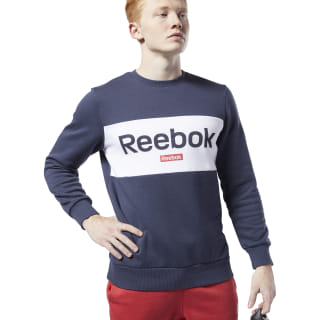 Training Essentials Linear Logo Sweatshirt Heritage Navy FI2873