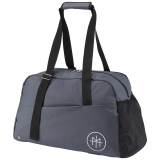 Torba sportowa LES MILLS Lead & Go Grip Duffle Light Solid Grey CD8553