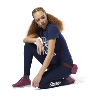Essential Jersey Leggings Collegiate Navy / White DH1364