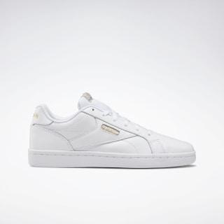 Кроссовки Reebok Royal Complete Clean LX WHITE/WHITE.GOLD MET DV6626