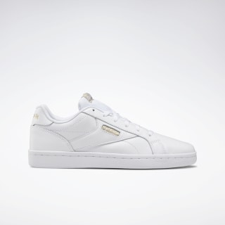 Reebok Royal Complete Clean LX Shoes White / White.Gold Met DV6626