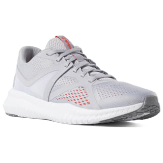 Reebok Flexagon Fit Cold Grey / White / Neon Red / Cold Grey CN6352