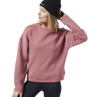 Workout Ready Crew Sweatshirt Rose Dust EC2385