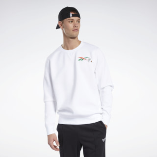Tom and Jerry Crew Sweater White GK9161