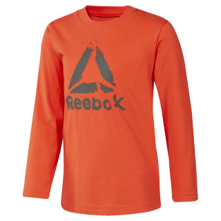 Boys Training Essentials Longsleeve Carotene DH4346