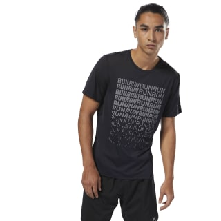 Camiseta Running ACTIVCHILL Graphic BLACK CY4652