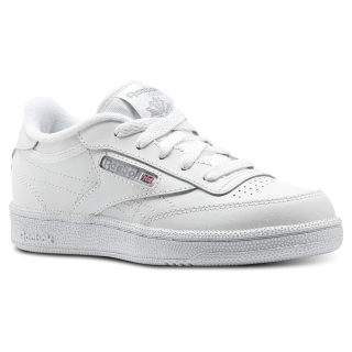 Club C - Pre-School White / Sheer Grey AR2376