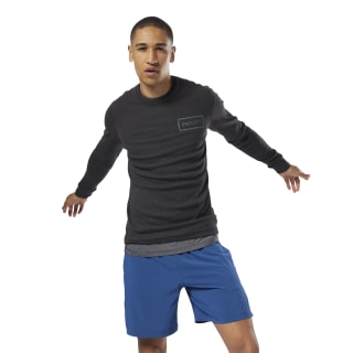Haut thermique CrossFit Long Sleeve Black CY4944