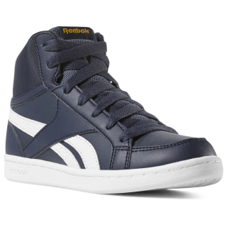 Reebok Royal Prime Mid - Pre-School Collegiate Navy / White / Grey / Collegiate Gold DV3872