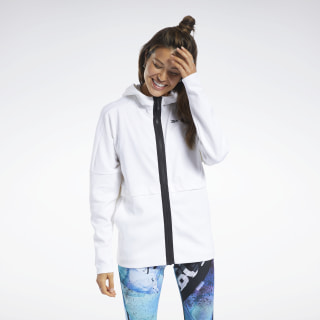 QUIK Cotton Hoodie White FN0374