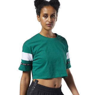 T-shirt Meet You There Colorblock Clover Green DY8122