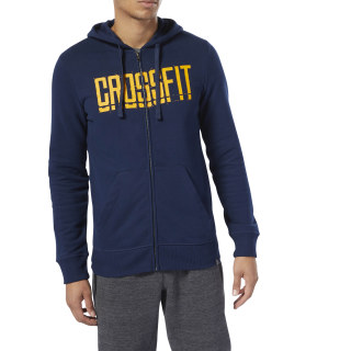 Худи Reebok CrossFit® Zip collegiate navy DU4615